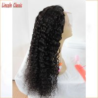 Wholesale Malaysian Virgin Full Lace Wigs - 100% Full Lace Human Hair Curly Wigs for Black Women 8A Malaysian Virgin Hair Kinky Curly Glueless Lace Front Human Hair Wigs