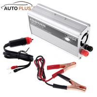 Wholesale inverter converter charger - Wholesale- 1000W WADC 12V to AC 220V Portable Car Power Inverter Charger Converter Transformer Car Charger