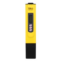 1 PC Digital LCD Wasserqualität Testing Pen Reinheit Filter TDS Meter Tester 0-9990 PPM Temp Portable Gelb