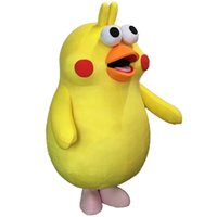 Wholesale Mascots Costumes Parrot - Supercute Japanese Cartoon Parrot Brother Mascot Lovely Character Mascot Costume Fat Parrot Suit Free Shipping