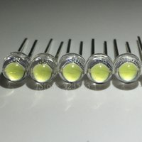 palhetas leves led venda por atacado-1000 pçs / lote 3000-4000mcd branco 5mm chapéu de palha contas LED lâmpada super brilhante LED super grande núcleo diodos emissores de luz (leds)
