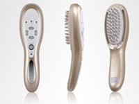 Wholesale Micro Current Massager - Rechargeable 3 in 1 Laser LED Light Micro Current Hair Brush Hair Growth Massager Health Comb