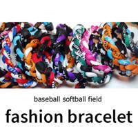 braceletes de corda para mulheres venda por atacado-Pulseiras para as mulheres 3 cordas tornado germânio titanium moda pulseira esportes x45 atletas super versão