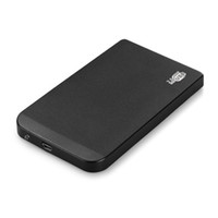 Wholesale ide inch casing online - new Black External Hard Drive Disk Enclosure Inch Usb Ide Ultra Thin Hdd Portable Case