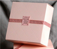 pink pastries NZ - Free Shipping Pink Cake Box Party Cupcake Gift Bakery Maccaron Pastry Cookies Packaging Paper Boxes