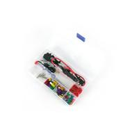 ingrosso aggiunge l'adattatore-12v Car Add-a-circuit blade Fuse TAP Adattatore ATM APS ATT Portafusibile con linea dell'elettrodo negativo, fusibile 30pcs, estrattore per fusibili, morsetto filo, w