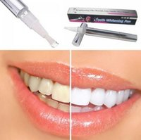 Wholesale Teeth Whitening Pen Gels - Teeth Whitening Pen 35% Carbamide Peroxide Gel Soft Brush Applicator For Tooth Whitening Dental Care Whitener Gel 2ml CCA6587 500pcs