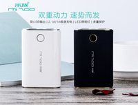 Wholesale Cheap Battery Powered Lights - 2017 Hot Sale Cheap Fashion Three Color Strong Safety High-Capacity 18650 batteries LED Light Cell Phone Power Banks