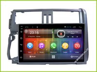 Wholesale Tx Radio Transmitter - Android 6.0 HD touch screen Car DVD Multimedia GPS For Toyota Prado TX LC 150 2010 2011 2012 2013