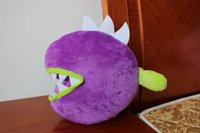 Wholesale 30CM corpse flower Plants vs Zombies Pea Shooter Sunflower Squash Plush Toys Doll Soft Plush Toy Doll Game Baby Party toys birthday gift