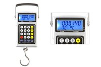 Wholesale Electronic Weigh Fishing - 7 in 1 LCD Screen 50kg 20g Electronic Digital Luggage Hanging Weighing Scale with Fish Hook