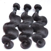 Wholesale Malaysian Bodywave Hair - Brazilian Virgin Human Hair Weaves Bundles Unprocessed Brazilian Peruvian Indian Malaysian Cambodian Bodywave Hair Extensions Natural Black