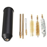Wholesale Pistol Cleaning Set - 7pcs set for Pocket Size Pistol Cleaning Kit Hand Gun Rod Brush Professional gun cleaning tools for pistols cal.38 357 9mm