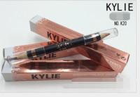 Wholesale Double Down Light - 2 pcs Kylie Jenner Concealer High light Double Pen Makeup Pencil 2 color please Down see