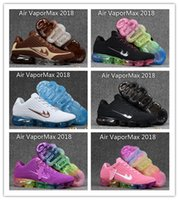 Wholesale Nice Lights - 2017 Hot Sale Real Nice Quality Vapormax 2018 Men Women Running Shoes KPU High Quality Sneakers