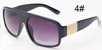 erkekler için geniş çerçeve güneş gözlüğü toptan satış-Yaz Kadın sürme rüzgar güneş gözlüğü Bayanlar sürüş Güneş Gözlüğü Marka Yeni Vintage Büyük Çerçeve Güneş Tonları adam açık plaj Gözlük UV400 A + +