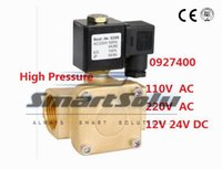 Wholesale electric oil pressure - High Quality 1'' DN25 230 PSI (16 BAR) DC12V Normally Closed Electric Solenoid Diaphragm Valve 0927400,AIR,WATER,OIL,DIESEL