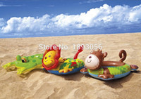 Wholesale Intex Inflatable Child - Wholesale- INTEX 58221 Child Swim Tubes Cartoon Animal Extra-Thick Safety Water Sport Pool Toys Inflatable Float Swimming Rings Life Buoy