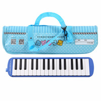 Instruments À Clavier En Gros Pas Cher-Vente en gros - 32 clés de piano Instruments de musique Melodica Instruments d'enseignement débutants Clavier Étui Harmonica Mouth Organ With Carrying Bag