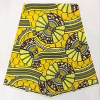 Wholesale Wholesale African Wax Print - Newest wax print fabric african super holland wax fabric cotton holland wax fabric 6yards pcs free shipping