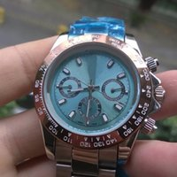 Wholesale Ice Calendar - ICE BLUE Luxury Brand Mens Stainless Steel Watches Automatic Mechanical Watch Date Business Mens Wristwatch