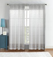 Wholesale Embroidered Sheer Curtains - Embroidered yarn curtains Blackout Curtain Blind Living Room Home Decoration,Room Divider Curtain,Elegant Sheer Curtains