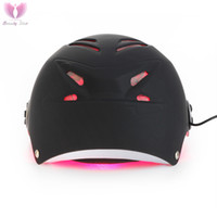 Wholesale Home Diode Laser Hair Removal - 68 Diodes Laser Hair Cap Anti Hair Loss Helmet For Man Home Use DHL Free Shipping