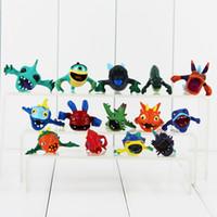 ingrosso giocattoli slugterra-2.5-3.7 cm 14 pz / lotto Slugterra PVC Action Fgure modello da collezione giocattolo per bambini regalo spedizione gratuita