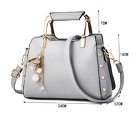 Wholesale Summer Korean Bags - 2017 Summer fashion ladies handbag mini wild Korean version shoulder Messenger small square bag