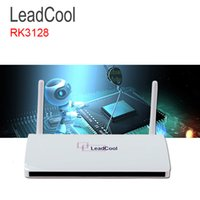 Wholesale Arabic Boxes - Leadcool Android Europe Arabic IPTV Box Full HD 1080P Quad Core RAM 1G Smart Set Top Box Support DLNA 4K 3D Build In Wifi