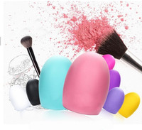 Wholesale cosmetic tool cleaners resale online - New arrived Brushegg Clean Brushes Makeup Wash Egg Brush Cosmetic Cleaning Tools For Makeup Brushes Beauty Tool