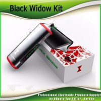 Wholesale Wholesale Herbal Oils - 100% Original Black Widow Vaporizer Kits 3 in1 wax oil dry herb box kit herbal e juice Liquid vapor mods vape pen e cigarette 2252002