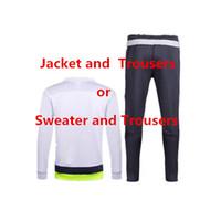 Wholesale Men Women Suits - 2016  17 Soccer Jerseys Any Team Soccer Kits camisetas de futbol Football Shirts Man shirts kids kits women jacket sweater training suits