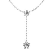 Wholesale Diy Sterling Silver Necklace Chain - Luminous Droplets White Crystal Pearl necklace Woman New Charm Sterling silver jewelry DIY Choker chain fashion jewelry
