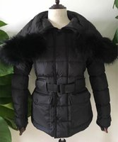 Wholesale Parka Style Jacket Men - Fashion Long Style Big Fur Collar Men Outerwear Parkas Quality M Brand Design Thick Men Down Coat Belt Pocket Down Jacket