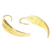 Wholesale ear cuffs men - 2Pcs Lot Gothic Punk Alloy Clip Earrings For Girls Angel Wing Gold-Color Ear Cuff Jewelry For Women Men Non-piercing Earring
