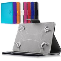 """Wholesale Android Tablet Cover Leather Bag - Wholesale-10""""10.1"""" Leather Case Stand Cover For Universal Android Tablet PC PAD tablet 10 inch case universal bags For ipad M2C43D"""