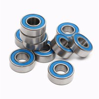 Wholesale Traxxas Wholesales - 10pcs MR115 2RS 5x11x4mm Ball Bearings For Traxxas Slash Rustler Stampede Wheel