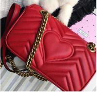 Wholesale Rivet Handbags Quality - Hotsale brand new top quality women advanced real leather flap chain handbag Shoulder Bag tote purse G009