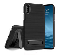Fundas pour Apple iPhoneX Case 5.8inch Bench Drawing Armor Shockproof Kick Stand Cover pour iPhone X Phone Case
