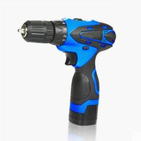 Wholesale 12v Cordless Electric Drill - 12V 16V 21V Cordless Screwdriver Rechargeable Electric Drill Mini Drill Taladro Inalambrico Power Tools Avvitatore A Batteria