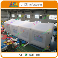 Wholesale Inflatable Tent Free Shipping - Free shipping, white inflatable tent, inflatable wedding tent,giant inflatable marquee tent,inflatable tent price