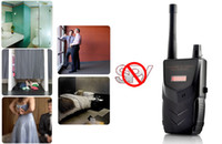 professionale Wireless Tapping Dispositivo Detector Hidden Spy Videocamera e Audio Segnale Bug Rivelatore Anti-spia dispositivo RF Hunter Locator Sound