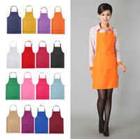 Wholesale Canvas Kitchen Aprons - 2017 New Black Cooking Baking Aprons Kitchen Apron Restaurant Aprons For Women Home Sleeveless Apron