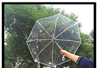 Wholesale Parapluie Transparent - Y55 brand transparent umbrella rain women female folding umbrella parapluie automatic yellow red white 8 colors ladies umbrellas