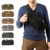 Wholesale Travel Camera Shoulder Bag - 3L Outdoor Military Tactical backpack Molle Assault SLR Cameras Backpack Luggage Duffle Travel Camping Hiking Shoulder Bag 3 use