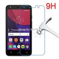 Wholesale 3g Lcd Screen Glass - Wholesale-high quality Tempered Glass screen protector Protective Lcd Film Guard For Alcatel One Touch Pixi 4 5.0 pixi4 5 3G 5010 5010D