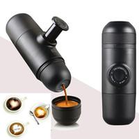 Wholesale Wholesale Drip Coffee - NEW Minipresso Creative Mini Coffee Makers EU USA PBT Portable Hand Pressure Manual Coffee Powder Espresso Machine WX-C13