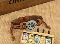 Wholesale China Traditional Girl - Latest vintage Women , Men Girls leather Bracelets , Weave Bracelet ,Jewelry ,gift,Adjustable size Z320