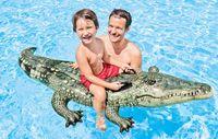 надувные водные животные оптовых-Экологичный Надувной крокодил Напиток держатель чашки животных держатель купальня Kiddie Игрушки для воды Плавающие партия украшения плавать поплавков